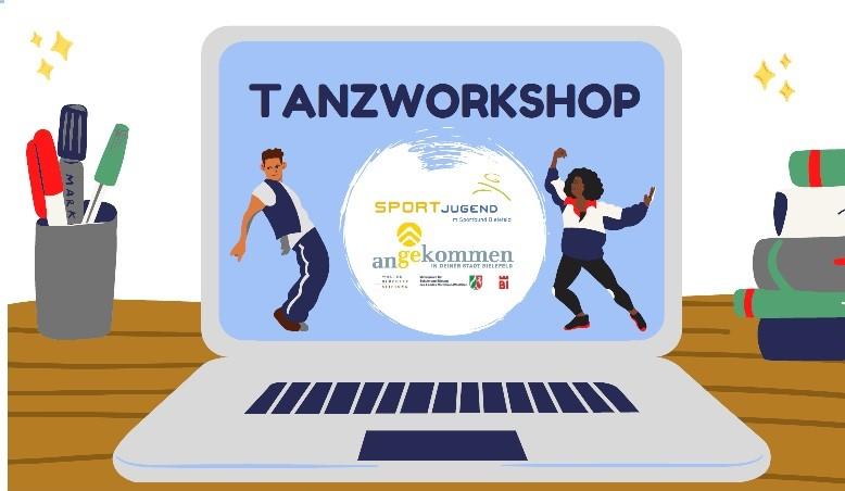 Flyer Tanzworkshop Beitrag